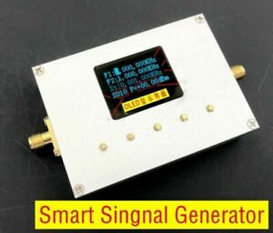 Oled Display 25mhz To 6ghz Handheld Smart Singnal Generator Rf Signal Source