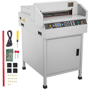Heavy Duty 18 Electric Paper Cutter 450mm Cutting Machine Power off Protection