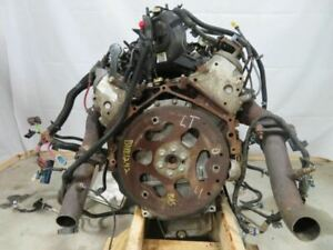 5 3 Liter Engine Motor Ls Swap Dropout Chevy Lm7 63k Complete Drop Out