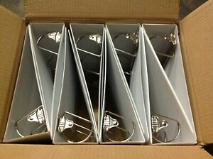 Lot Of 8 Office Impressions Economy View Binder D ring 3 White off 82252