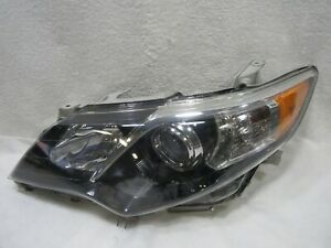2012 2013 2014 Toyota 12 14 Camry Se Left Halogen Headlight Headlamp Oem A3410