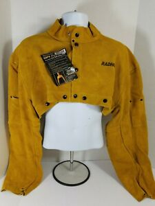 Radnor Leather Cape Sleeve Welding Size Xxl 2xl Never Used