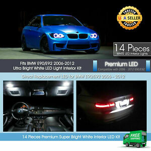White Led Interior Light Package For Bmw 3 Series E90 E92 328i M3 335i 2006 2012