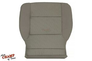 2015 2019 Chevy Suburban Tahoe Ls Lt driver Side Bottom Cloth Seat Cover Tan
