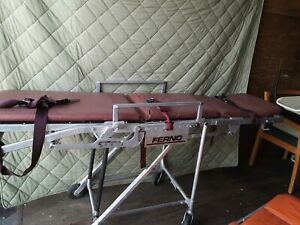 Ferno Model 28 Stretcher Chair Ambulance Emc Transport Cot Guerney Good Conditio