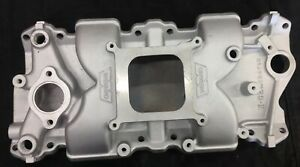 Weiand X Celerator Intake Manifold Imca Approved Small Block Chevy Man