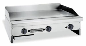 American Range Artg 48 48in Commercial Gas Flat Griddle W Thermostatic Controls