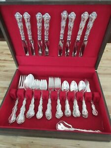 Gorham Strasbourg Sterling Silver Flatware Service For 8 Serving 52 Pieces