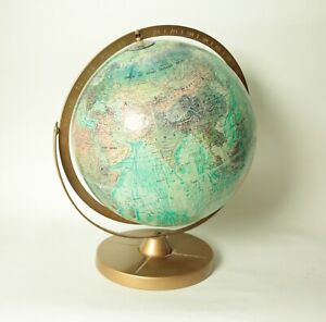 World Ocean Globe By Replogle Vintage Globe With Ussr