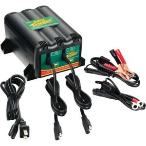 Battery Tender 2 Bank Charger 3 Step Management System 12v 1 25 Amp