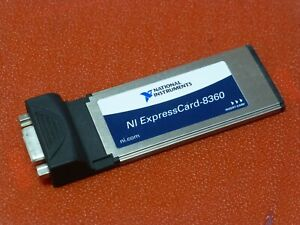 National Instruments Ni Expresscard 8360 Mxi express Pxi Pxie Interface Card