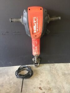 Hilti Te 3000 avr Electric Breaker Demolition Demo Jack Hammer