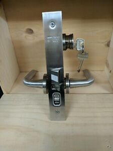 Sargent 82oo Mortise Lock With Cylinder Removable Core 2 Keys