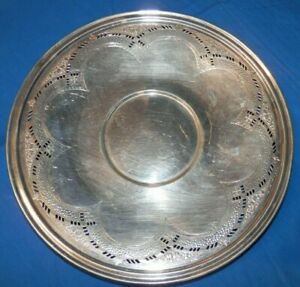 Epns Poole Silver Co 8684 Candy Dish 10 Free Shipping