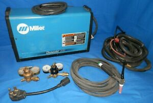 Miller Dynasty 200 Dx Tig Welder W Leads And Extras Look Free Shipping