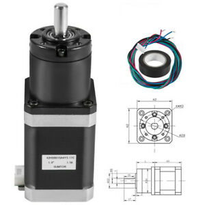 Gear Nema17 1 5a 42mm Ratio 139 1 Planetary Gearbox Stepper Motor