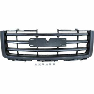New Front Grille 2007 2013 Gmc Sierra 1500 Gm1200583 22761793 Ships Today