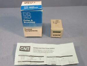 Potter Brumfield Cnt 35 26 Programmable Multifunction Time Delay Relay counter