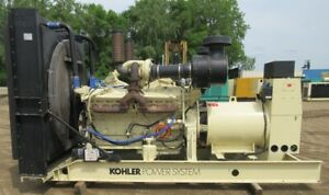 750 Kw Kohler Detroit Diesel Generator Genset 480 Volts Load Bank Tested