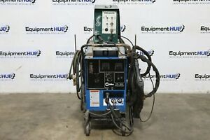 Miller Cp 300 300 Amp Mig Welder W Cobramatic Push Pull 150 003 Wire Feeder