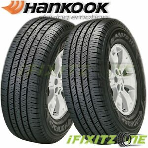 2 Hankook Dynapro Ht Rh12 P265 70r16 111t All Season Performance Highway Tire