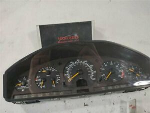 1998 1999 Mercedes benz S500sel Speedometer Cluster 1404407711 For Parts