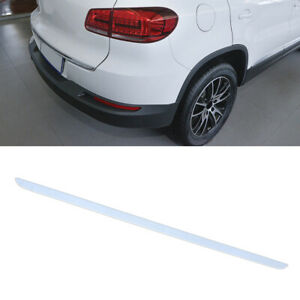 Chrome Rear Trunk Back Door Edge Cover Trim Lid Fit For Vw Tiguan 2010 2016