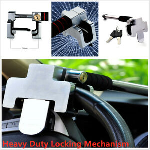 Anti theft Security Rotary Steering Wheel Lock Top Mount For Suv Auto Car W 2key