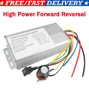 Dc 10 60v 70a 4000w High Power Dc Motor Speed Controller Forward Reversal