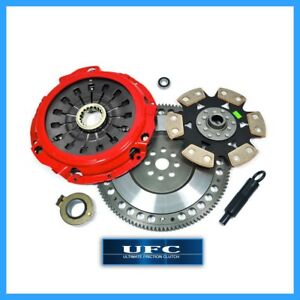 Ufc Stage 4 Clutch Pro kit chromoly Flywheel Fits 03 08 Tiburon 2 7l V6