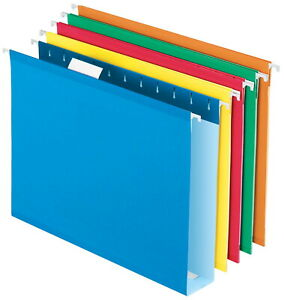 Pendaflex Extra Capacity Reinforced Hanging File Folder 1 5 Cut Letter 2 Inch