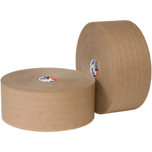 Shurtape Wp100 Water activated Reinforced Gum Paper Tape 3 X 500 6 Rolls cs