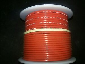 M22759 16 16 2 16 Awg Stranded Red Tefzel Ins Airframe Wire 100 Ft Spool