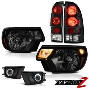 12 15 Toyota Tacoma X runner Foglamps Dark Tinted Headlamps Tail Lights Oe Style