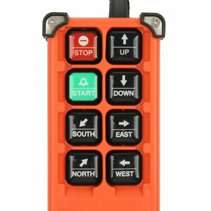 Wireless Industrial Remote Controller Switches Hoist Crane Control Lift Crane