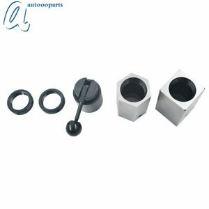 New 5c Collet Block Set Square Hex Rings Collet Closer Holder High Quality