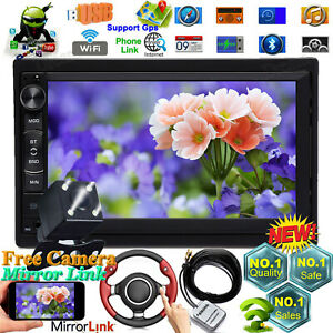 For Ford Ranger Crown 2din Car Stereo Android Mp5 Radio F Am Quad Core Bluetooth
