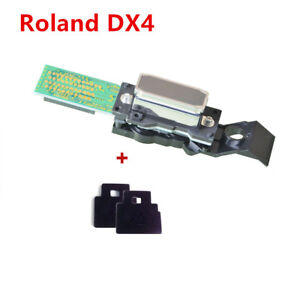 Original Roland Dx4 Eco Solvent Printhead For Sj 540 Rs 640 With 2 Wiper Blade