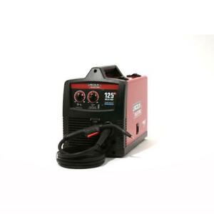 New Lincoln Electric 125amp Weld pak 125 Hd Flux cored Welder With Gun