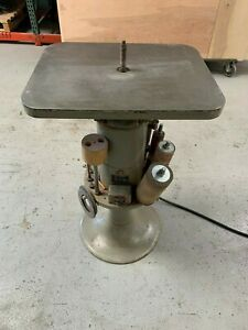 State B4 Oscillating Spindle Sander W Spindles Throat Plates
