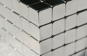 250 Pcs 5mm Cubes Squares Strong Magnets N48 Neodymium High Quality