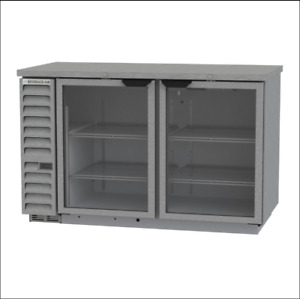 Refrigerated Back Bar Cabinet Bev Air Bb58hc 1 g s 59 W Glass New Save 965 00