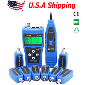 Usa Ship Nf388 Network Ethernet Lan Phone Tester Wire Tracker Usb Coaxial Cable