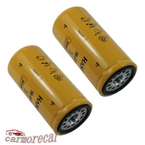 New 2 Pack Fuel Filter 1r 0750 1r0750 For Cat Caterpillar Duramax Sealed