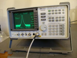 Hp Agilent 8560e Spectrum Analyzer 30 Hz 2 9 Ghz Calibrated W Nist Cert