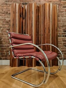 Mr Lounge Chair Model 44 Mies Van Der Rohe For Knoll