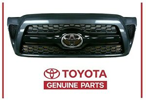 Genuine Toyota Tacoma Sport Silver 1e7 Painted Honeycomb Grille Oem Oe