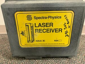 Spectra precision Laser Receiver Model R2s s Machine Grade Control Trimble