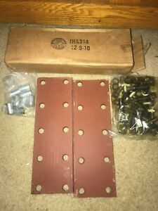2 Farmall 460 560 350 300 Ih Tractor 10 Hole Fender Extension Brackets Spacers