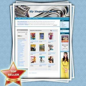Magazine Store Easy to operate Affiliate Income Internet Home based Business